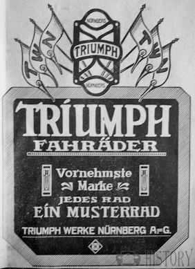 Triumph TWN (Triumph Werke Nürnberg AG)  Vehicle manufacturer History Nuremberg Germany from 1933