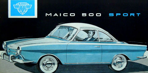 Maico 500 Sport coupe history microcar