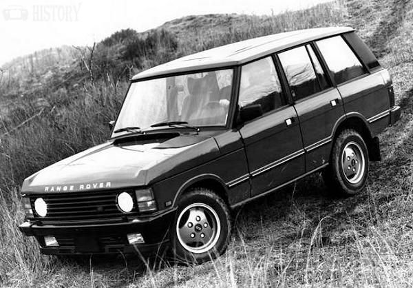 Range Rover First Generation history
