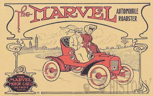 Marvel Motor Car Co  American Automotive manufacturer Detroit, Michigan, USA From 1907