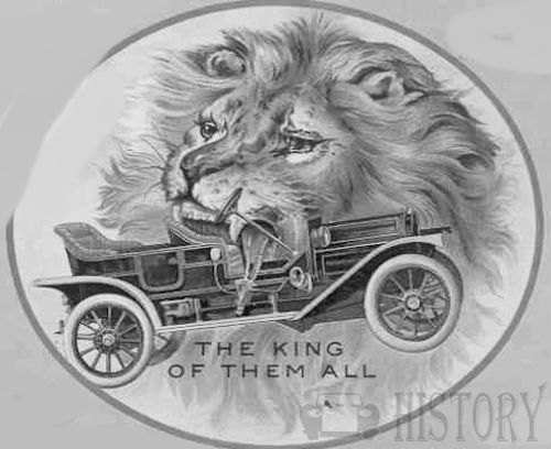 Lion Motor Car Company  American Automotive manufacturer Adrian, Michigan; United States from 1909 to 1912