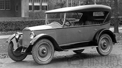 Gray Motor Corp. Automobile 1922