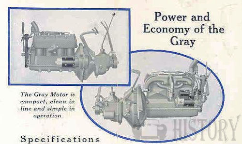 Gray Motor Corp. Automobile engine