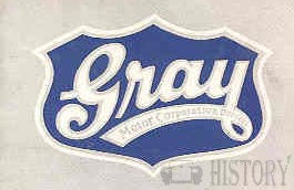 Gray Motor Corp. Automobile maker based in Detroit, Michigan USA between 1920 and 1931.