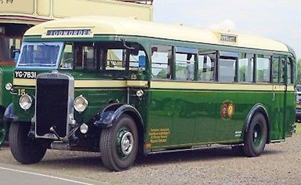 Leyland Tiger TS6 Bus (1933 to 1936)
