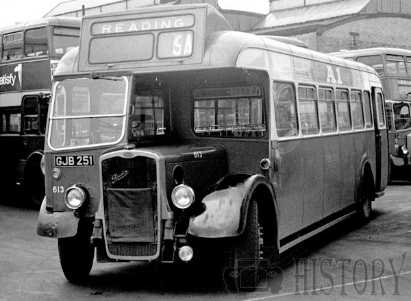 Bristol LWL type Bus