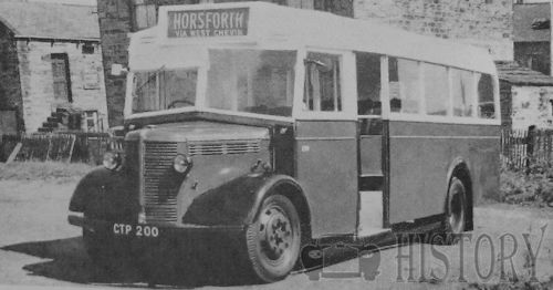 BEDFORD OWB Bus From 1942 to 1945
