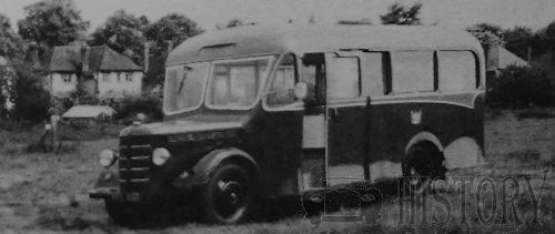Bedford MLC Bus from 1952