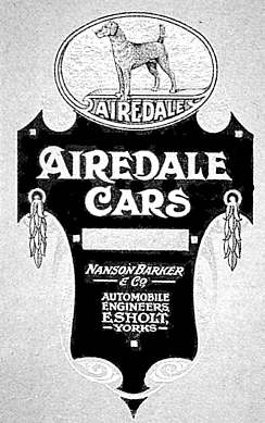 Airedale Cars History