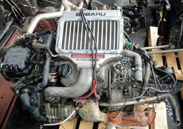 Subaru EK engine range