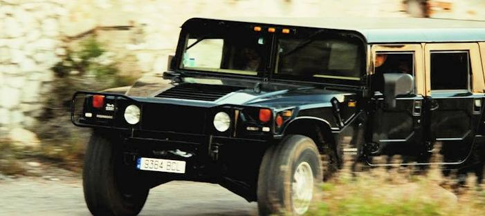 Hummer in Transporter 3 Movie from 2008