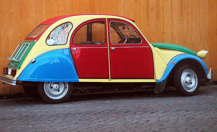 Citroën 2CV Technical Data  (1948-1990)
