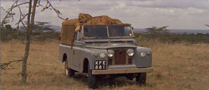 Land-Rover 109'' Series IIa in the Born Free Movie (1966)