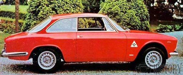 1967 Alfa Romeo Giulia Sprint GT side view