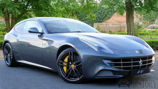 Ferrari FF car range and history from 2011