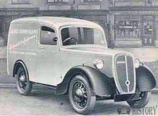 45b768e1cd Jowett - Jowett Bradford (1946-1953)