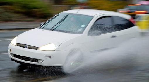 Car Aquaplaning (hydroplaning) Explained