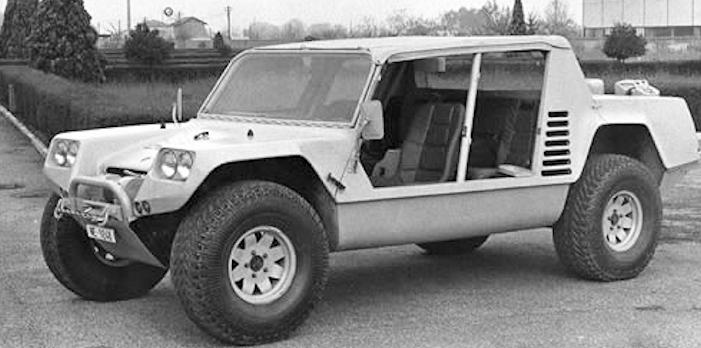 Lamborghini Cheetah prototype 1977 side view