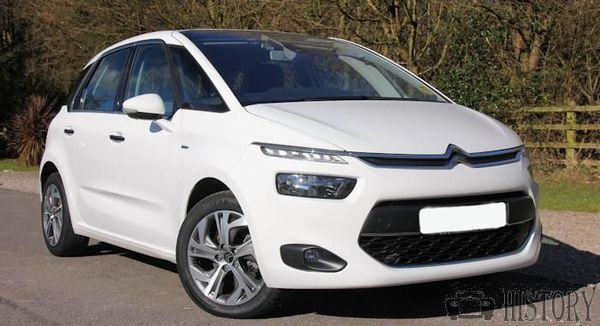 Citroën C4 Picasso Second generation range