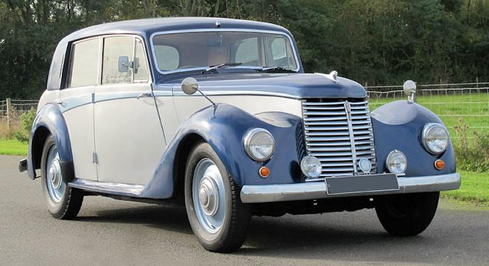 Armstrong Siddeley Whitley car history
