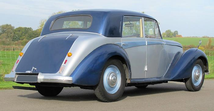 Armstrong Siddeley Whitley rear view
