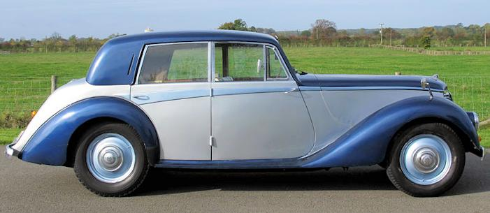 Armstrong Siddeley Whitley side view 1952