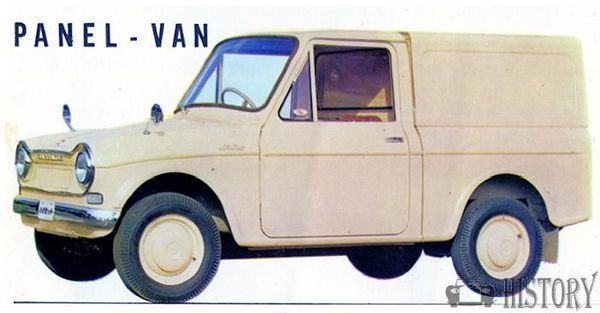 Daihatsu Hijet First generation panel van 1960