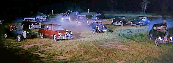 Rebel Without a Cause  movie cars