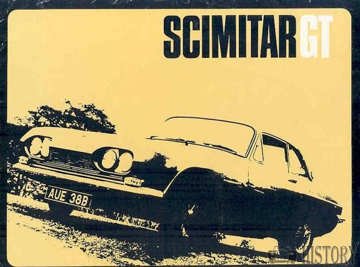 Scimitar GT SE4 car history from 1964 to 1970