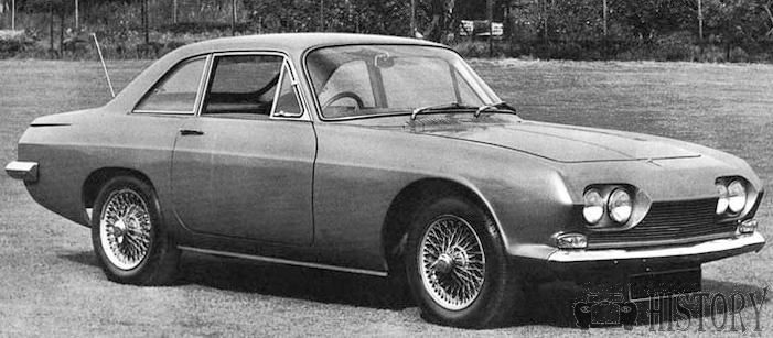 Scimitar GT SE4 car history from 64 to 70