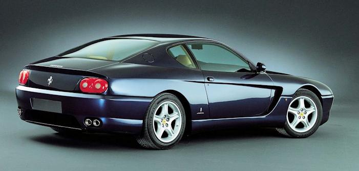 Ferrari 456 GT rear view