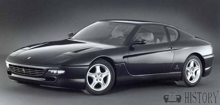 Ferrari 456 car range and history