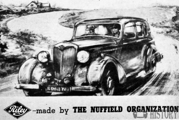 Riley Motor Company Coventry nuffield