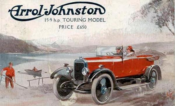 Arrol-Johnston Car History