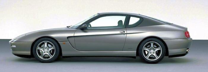 Ferrari 456m side view