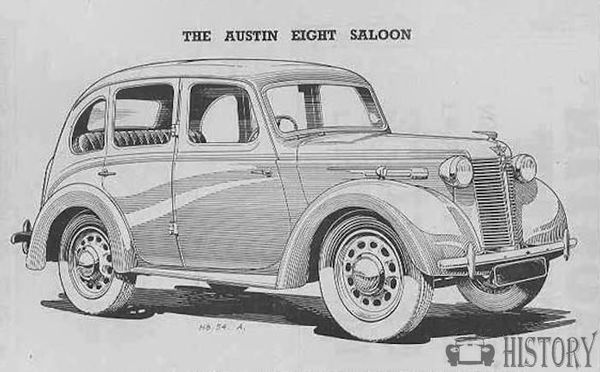 Austin 8 salloon from 1948