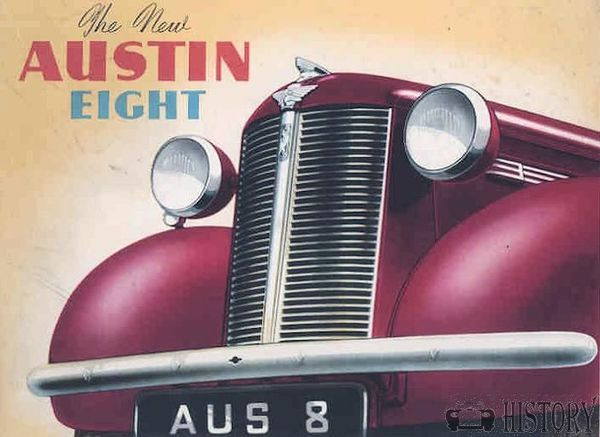 Austin 8 Car history and range 1939 to 1947