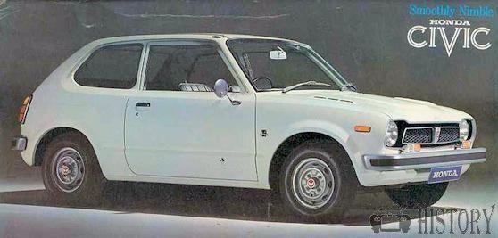 Honda Civic First Generation History