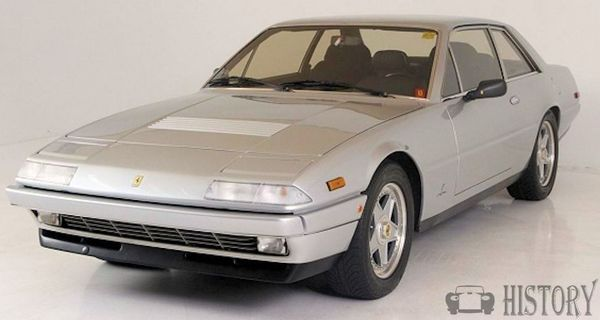 Ferrari 412 range and history