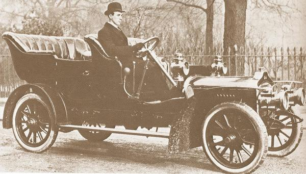 West cars 20/22 hp (1907) GB