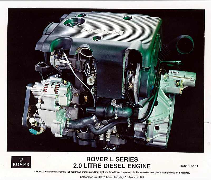 Rover L Series Engine
