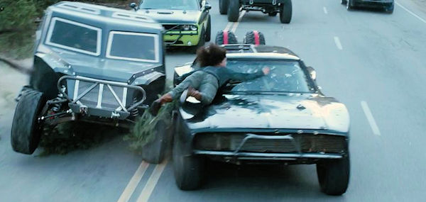 Furious  7 1967 Dodge Charger.