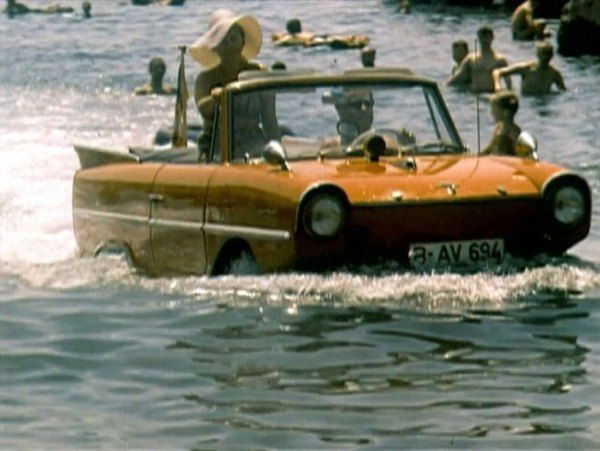 Amphicar in film and tv