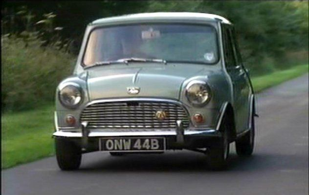 Austin Mini MkI in Heartbeat, TV Series,
