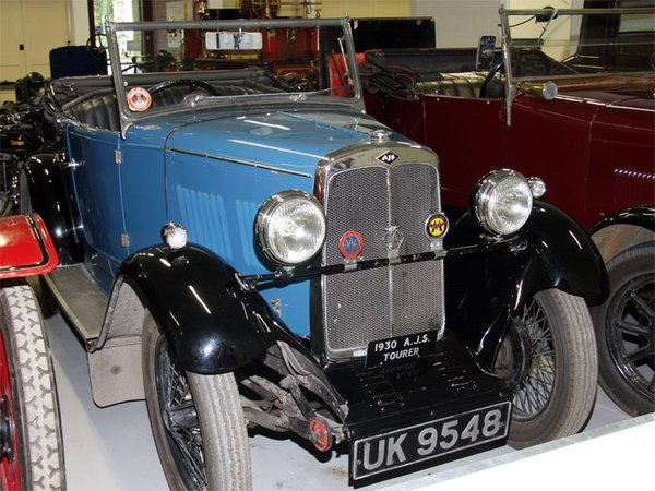 AJS 1930 car Great Britain