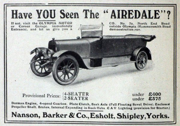 Airedale Cars Great Britain