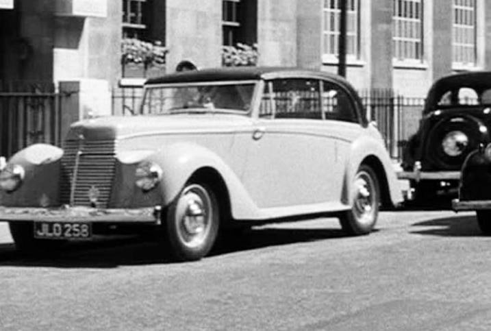 1947 Armstrong Siddeley Typhoon in Stage Fright, Movie, 1950