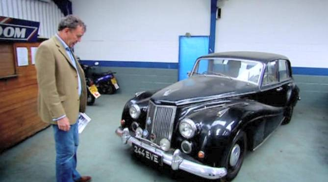 1958 Armstrong Siddeley Star Sapphire in Top Gear TV series 13 (2009)