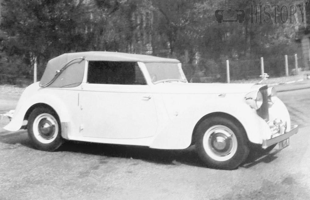Alvis-TA14 Drop Head Coupe car