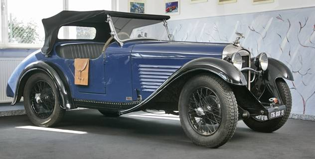 Amilcar Type M history
